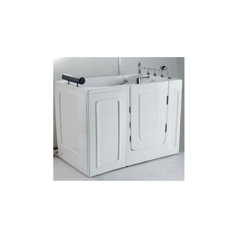 Vasca da bagno con sportello d\'ingresso offerta per anziani e disabili