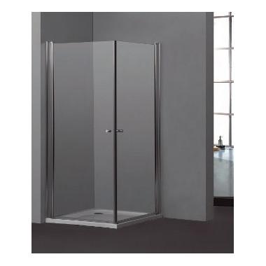 Cabina doccia con 2 ante battenti