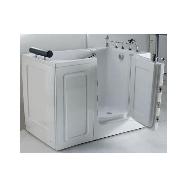 Vasca da bagno con sportello d 39 ingresso laterale 136x78 cm - Sportello vasca bagno ...