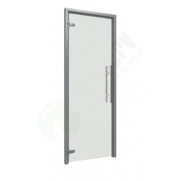 Porta in vetro per bagno turco 70 cm trasparente a - Porte in vetro per bagno ...