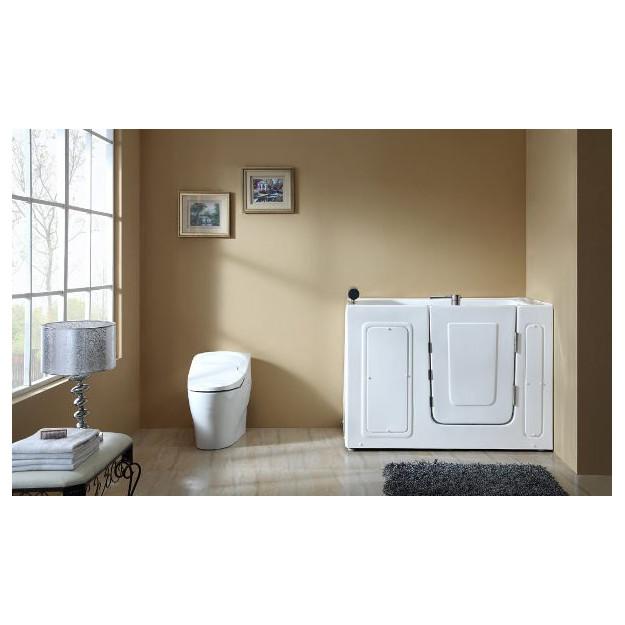 Vasca da bagno con sportello d 39 ingresso laterale 136x78 cm - Vasca da bagno con sportello prezzo ...
