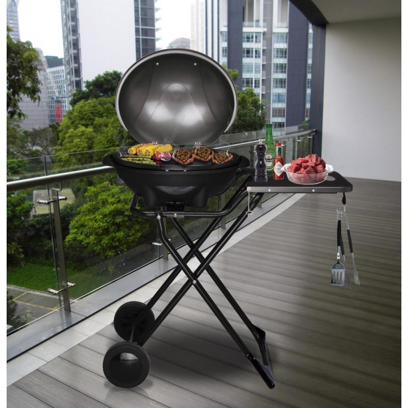 Barbecue elettrico con coperchio per giardino 2200W ottimo prezzo