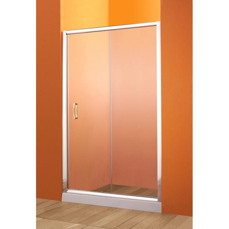 Parete In Vetro Scorrevole : Parete doccia nicchia anta scorrevole in vetro