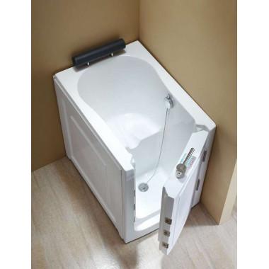 Vasca da bagno con sportello di ingresso frontale 100x70cm - Seduta vasca da bagno ...