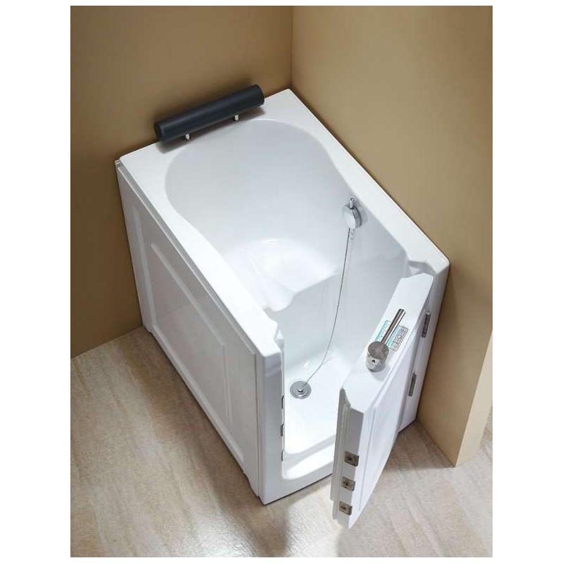 vasca da bagno con sportello di ingresso i q376 appoggio destro