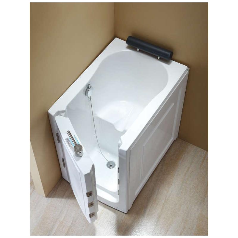 Vasca da bagno con sportello di ingresso laterale 100x70 economica