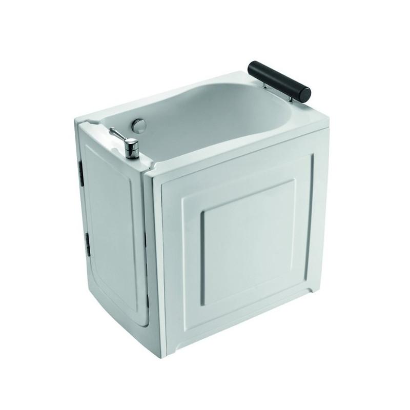 Vasca da bagno con sportello di ingresso frontale 100x70 - Vasca da bagno con sportello prezzo ...