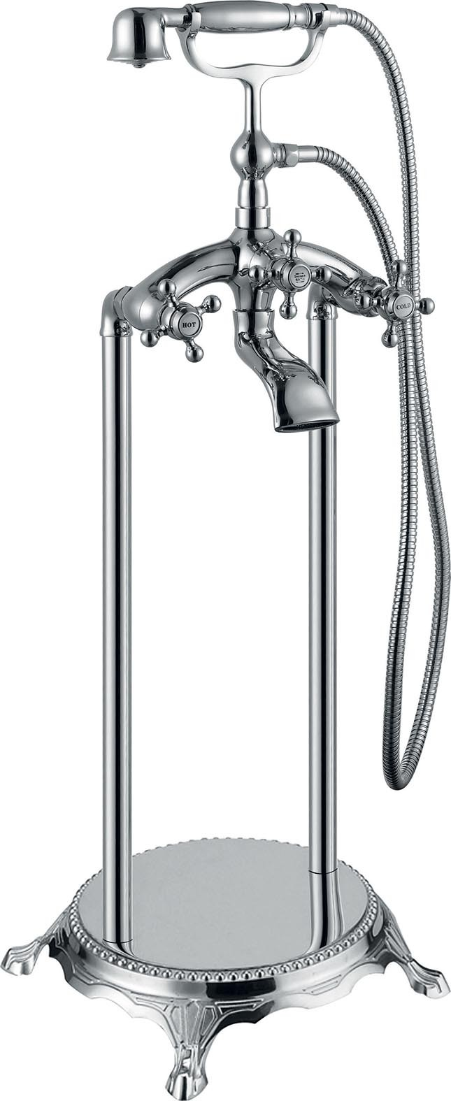 Rubinetteria a colonna per vasca da bagno freestanding buon prezzo : rubinetti da bagno : Design