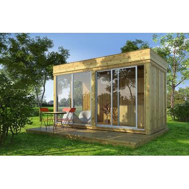 Gazebo in legno da giardino 4x2m GARDENCUBE42