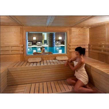 Sauna completamente personalizzabile