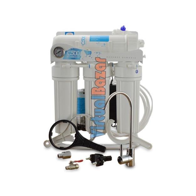 Impianto ad Osmosi Inversa a filtrazione diretta 65l/h