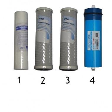 Set filtri completo per sistema ad Osmosi I-SIN-050019
