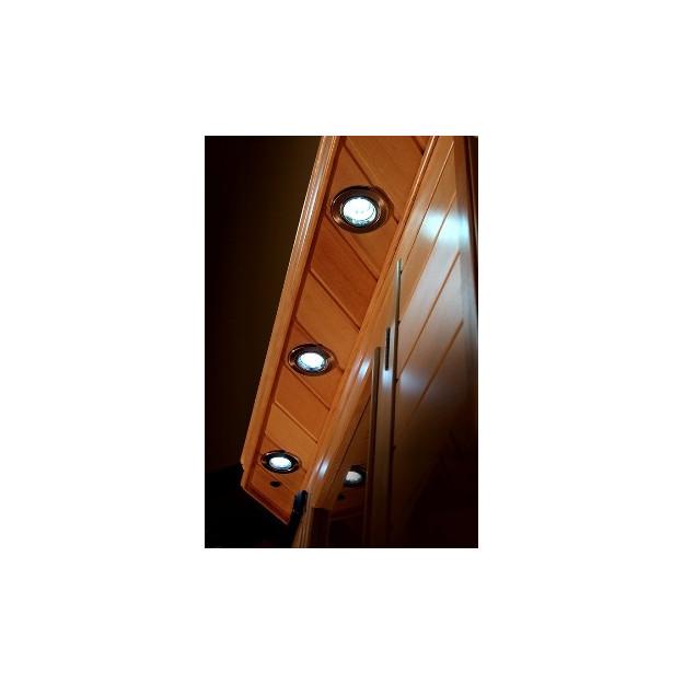 Sauna ad infrarossi a pannelli di carbonio per 2 persone for Costo della costruzione di una sauna domestica