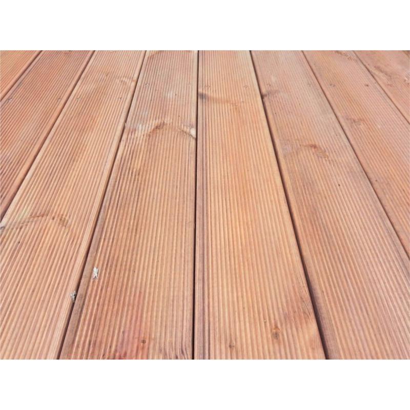Terrazzo base pavimentazione in legno abete da esterno - Pavimentare terrazzo esterno ...