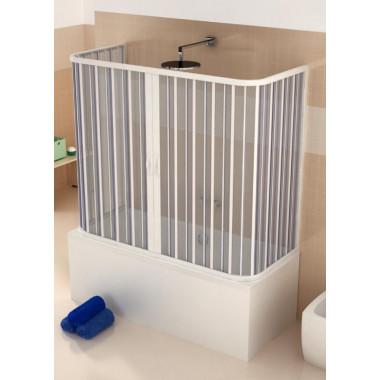 Chiusura box sopra vasca 3 lati in PVC