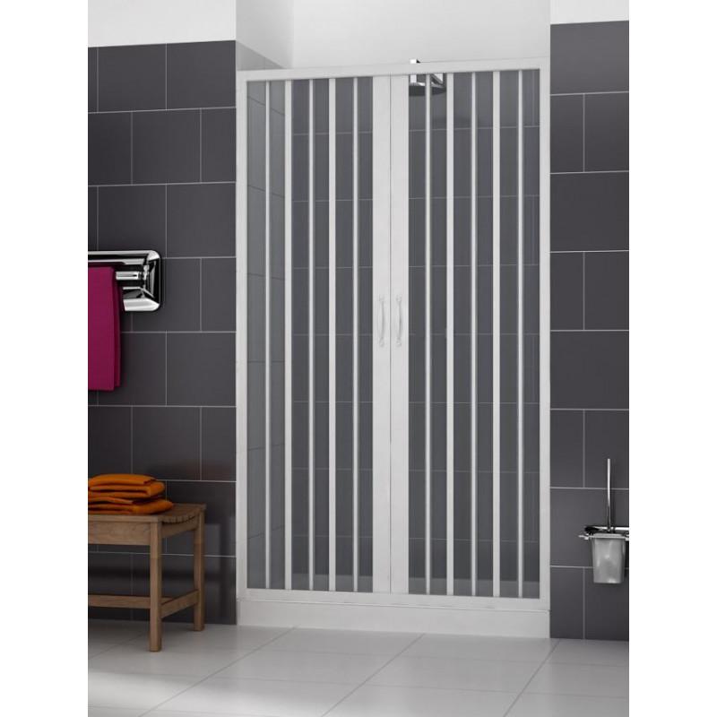 Porta doccia per nicchia in PVC economica
