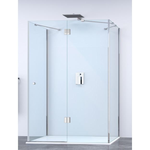 Box doccia 3 lati con anta battente super lusso diverse - Porta cabina doccia ...