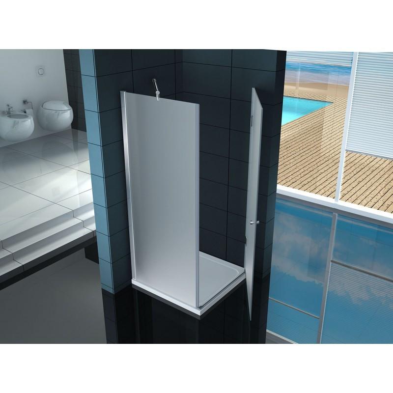 Box doccia anta battente quadrata vetro 8 mm a poco prezzo - Cabine doccia vetro ...