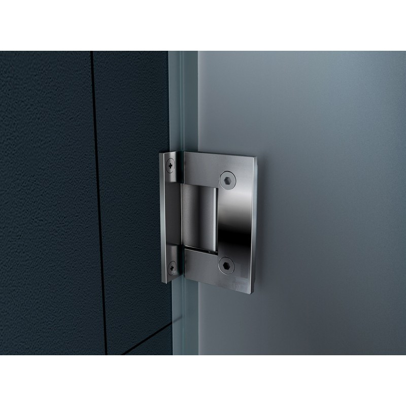 Box doccia anta battente quadrata vetro 8 mm a poco prezzo - Spessore porta ...