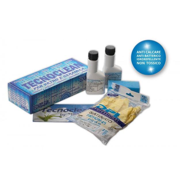Prodotto per pulizia permanente dei vetri,anti calcare, easy clean, vetrate, finestre, box doccia