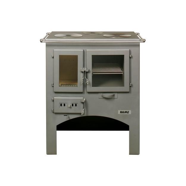 Stufa cucina a legna in acciaio con forno a legna ottimo prezzo