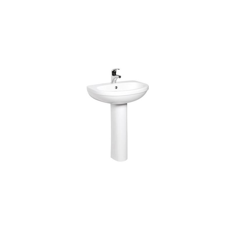 Elegante lavabo a colonna in ceramica made in italy ottimo for Lavabo a colonna