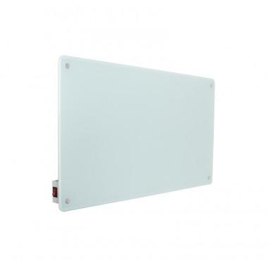 colore bianco radiatore elettrico in vetro per riscaldamento ambienti ad infrarossi
