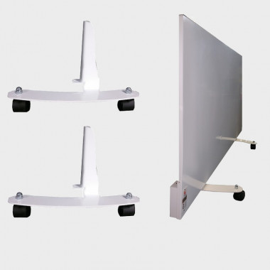 KIT rotelle per radiatore elettrico in metallo T-TCM