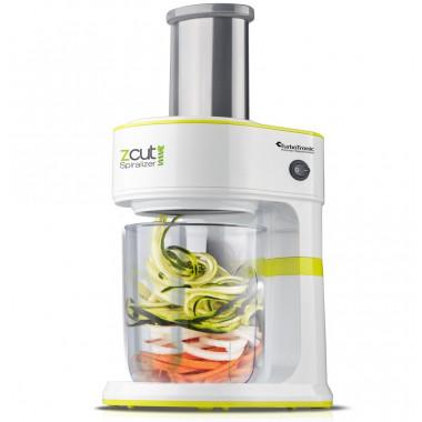 Spiralizzatore elettrico per vegetali con funzione mandolina 1.3 litri 120W