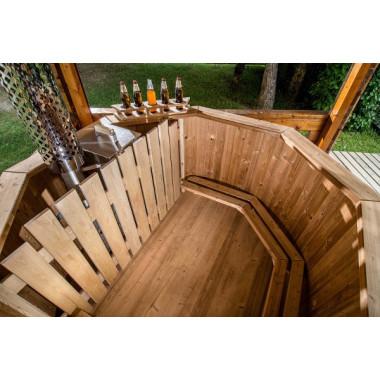 Tinozze in legno da esterno per il tuo giardino for Tinozze da giardino