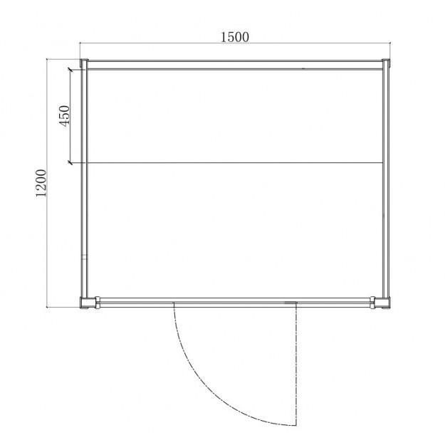 Disegno tecnico sauna