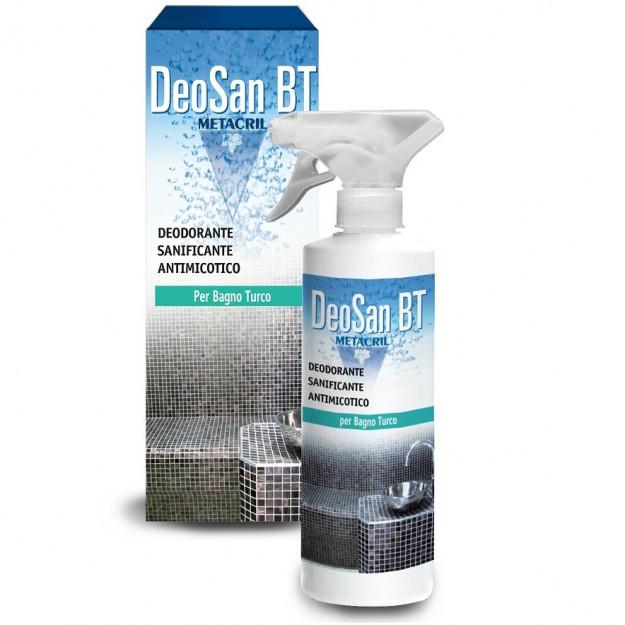 Detergente igienizzante sanificante antimicotico per bagno turco