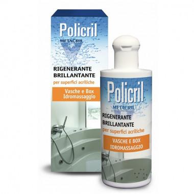 Policril Cera brillantante per superfici acriliche di docce e vasche idromassaggio