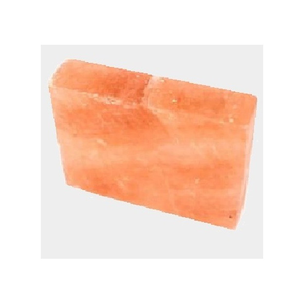 KIt 10 mattoni di sale himalayano cristallino ideale per pareti e grotte di sale
