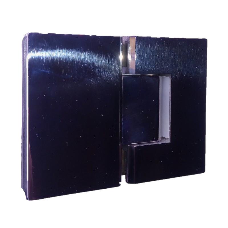 Coppia cerniere porte vetro doccia sauna e bagno turco - Porte in vetro per bagno ...