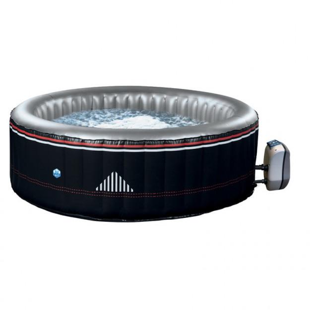 Piscina idromassaggio gonfiabile MONTANA da esterno 4 posti, rotonda diametro 175 cm