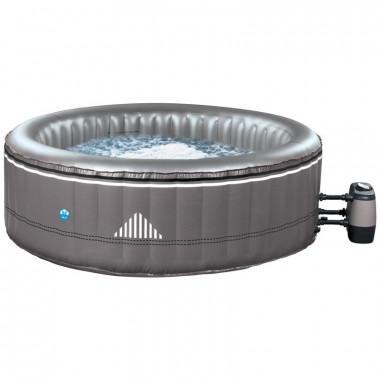 Piscina idromassaggio gonfiabile MALIBU da esterno 6 posti, rotonda diametro 204 cm