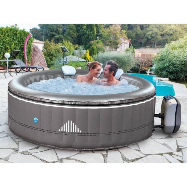 piscina idromassaggio gonfiabile da esterno 6 posti