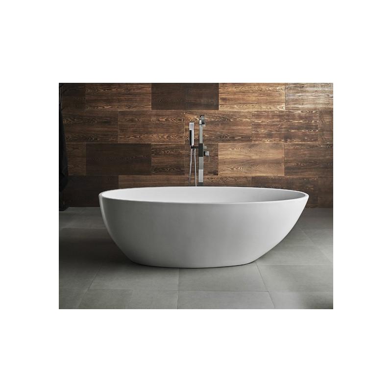 Vasca da bagno 170x95 in acrilico gemini ottimo prezzo - Vasca da bagno freestanding ...