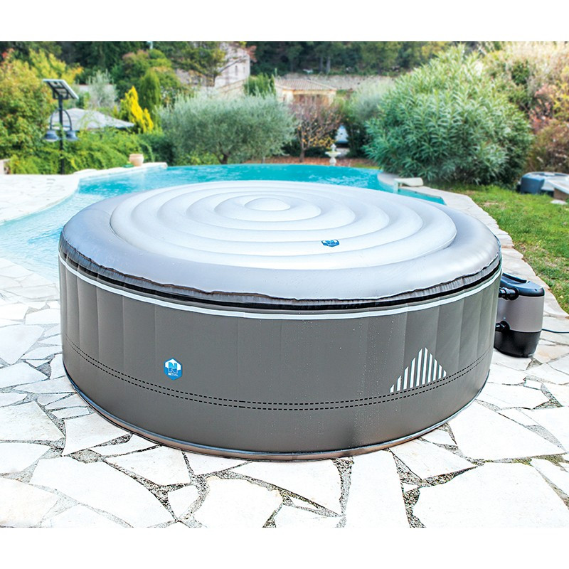 Copertura termica per spa gonfiabili rotonda 6 posti diametro 165 cm - Copertura termica per minipiscina ...