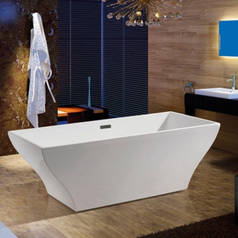 Vasca da bagno freestanding 170x80 in metacrilato ottimo - Box x vasca da bagno ...