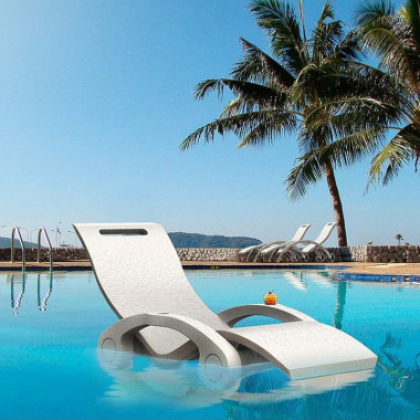 Chaise lounge lettino relax galleggiante