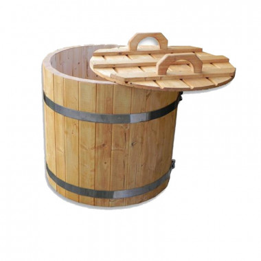 Tinozza per acqua fredda in legno di ottima qualità
