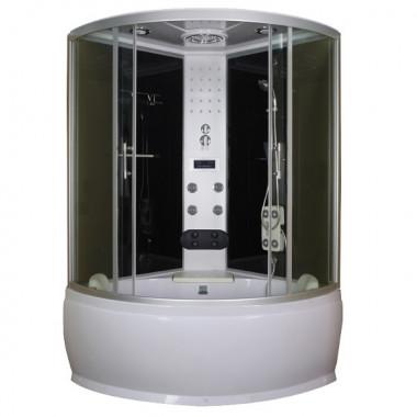 Box doccia idromassaggio con vasca 120x120