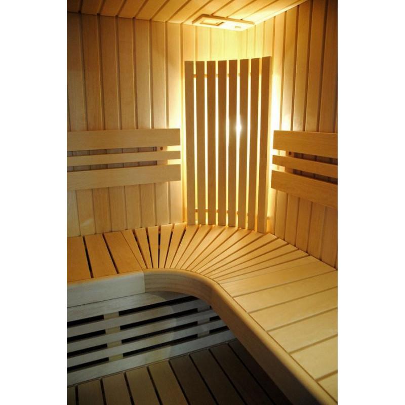 Sauna finlandese moderna e raffinata in offerta per la tua casa