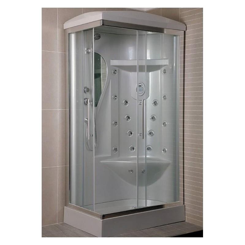 Box doccia idromassaggio rettangolare bagno turco 110x70 ottimo prezzo