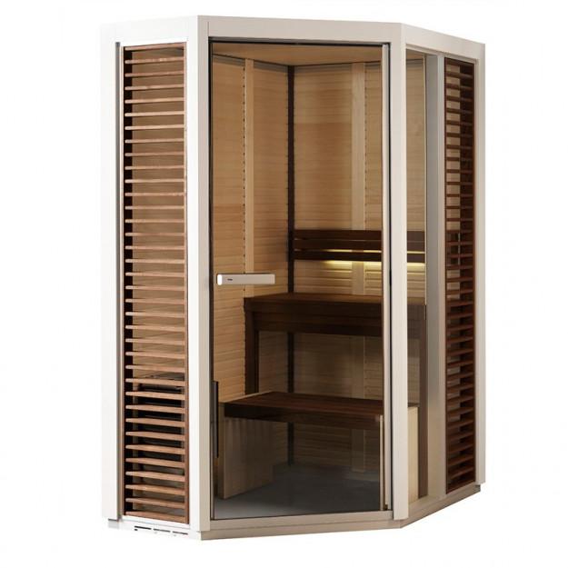 Sauna finlandese angolare 150x110cm TYLO impression
