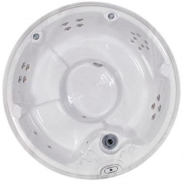 Vasca idromassaggio minipiscina SPA rotonda da esterni ed interni 5 posti diametro 218 cm