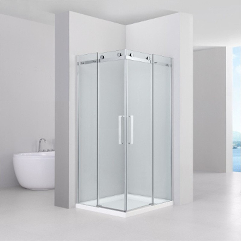 cabina doccia anta scorrevole vetro trasparente 8mm