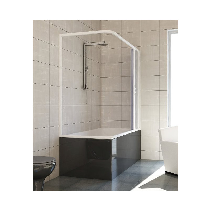 Box doccia angolare sopravasca in PVC ottimo prezzo
